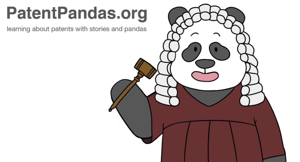 patent pandas title banner